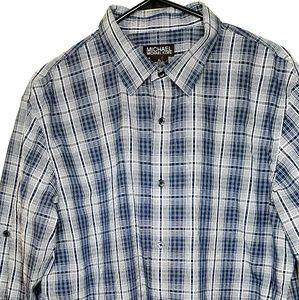 Michael Kors Button Up Long Sleeve Dress Mens XL